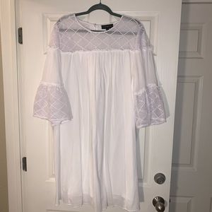 Lane Bryant White Dress